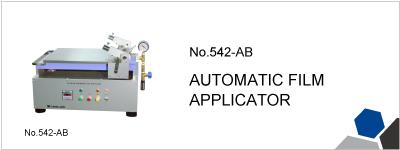 No.542-AB AUTOMATIC FILM APPLICATOR