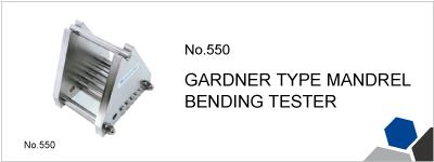 No.550 GARDNER TYPE MANDREL BENDING TESTER