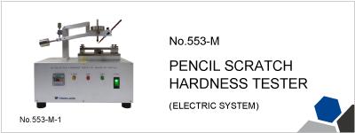 No.553-M PENCIL SCRATCH HARDNESS TESTER