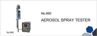 No.660 AEROSOL SPRAY TESTER