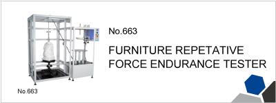 No.663 FURNITURE REPETATIVE FORCE ENDURANCE TESTER