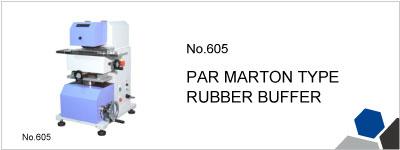 No.605 PAR MARTON TYPE RUBBER BUFFER
