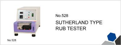 No.528 SUTHERLAND TYPE RUB TESTER