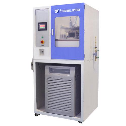 No.121-RA 脆化温度試験機(冷凍機付、ホルダー自動回転)