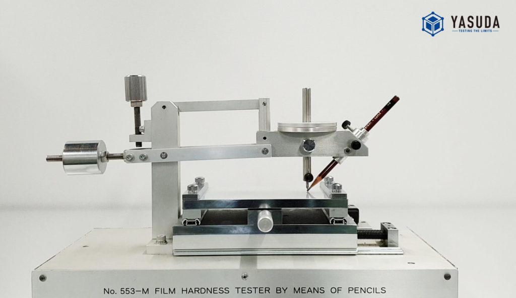 鉛筆引っかき硬度試験機